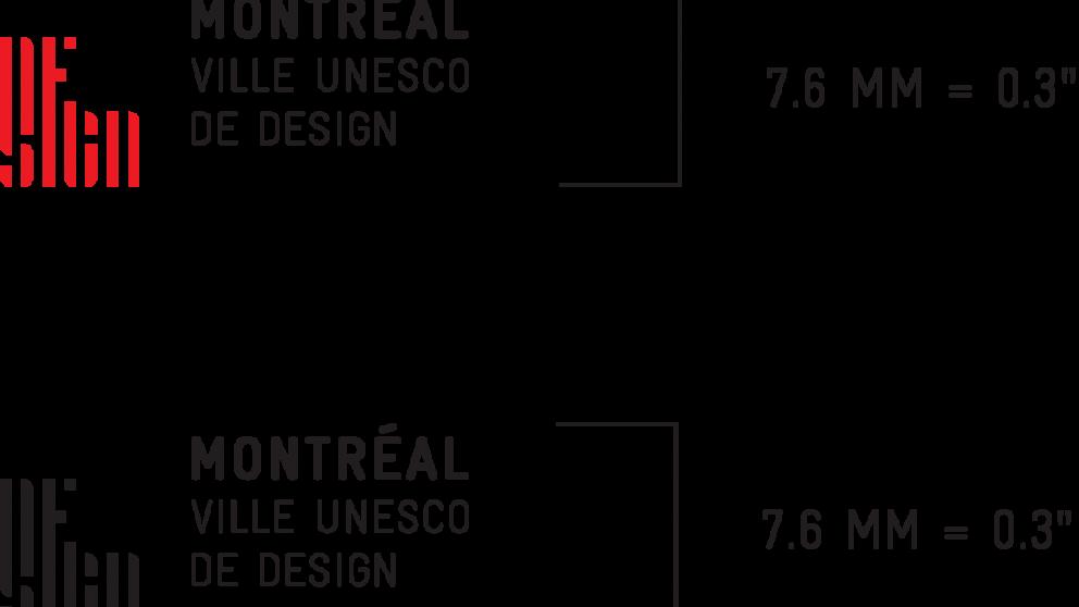 Taille minimale - Montréal ville UNESCO de design