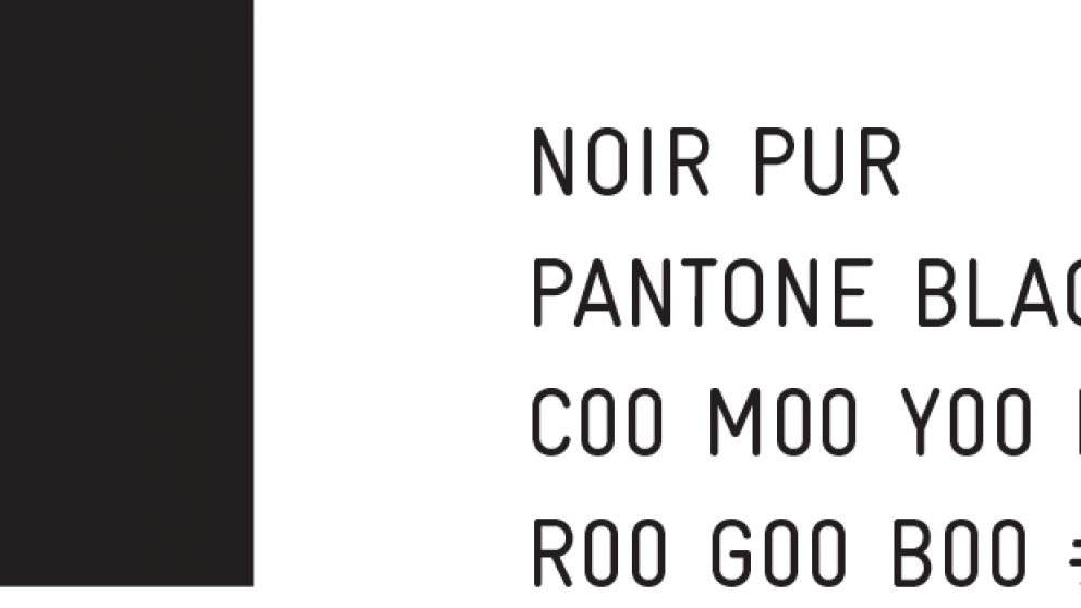 Couleur noir - Montréal ville UNESCO de design