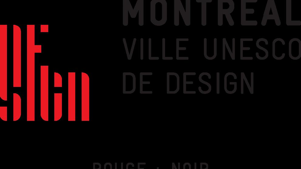 Couleur rouge + noir - Montréal ville UNESCO de design