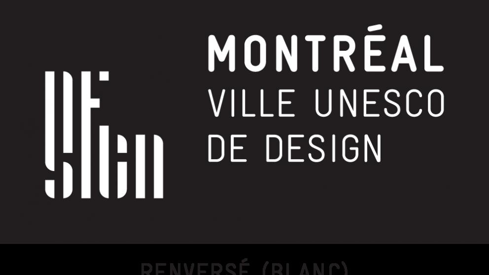 Renversé (blanc) - Montréal ville UNESCO de design
