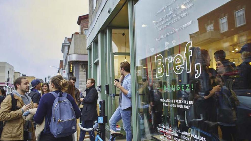 Bref - Galerie. Boutique. Happening.