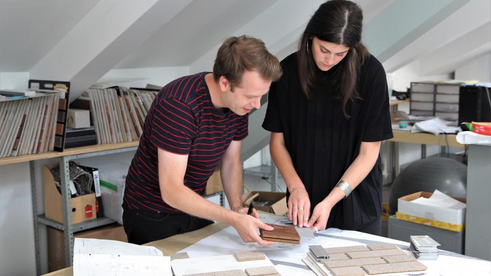 Maggie Cabana et Olivier Lajeunesse-Travers, associé principal chez Architecture Microclimat