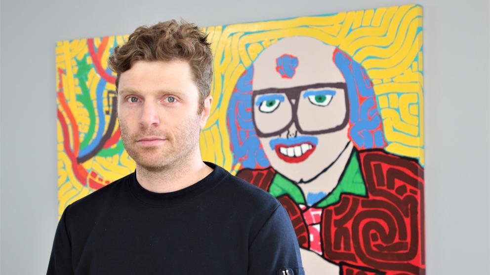 Marc-Antoine Jacques, designer graphique, cofondateur de Folklore
