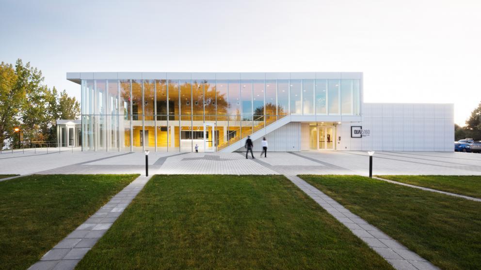 Édifice Guy-Gagnon - Quai 5160 - Maison de la culture de Verdun