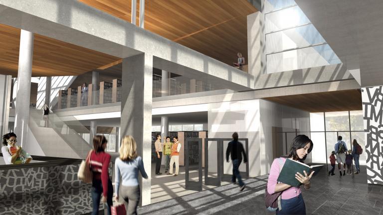 Concours Bibliothèque Saint-Laurent