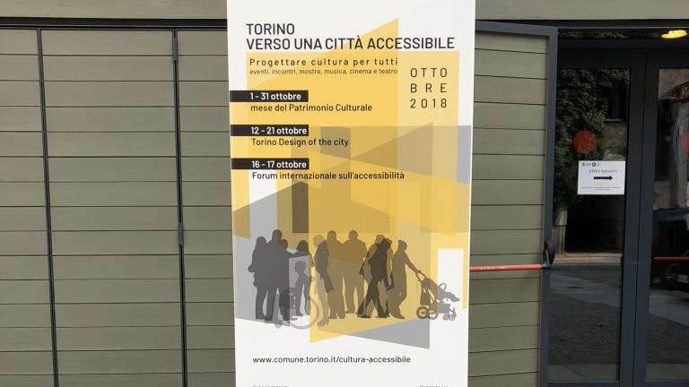 Forum international « Torino towards an accessible city »
