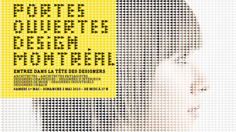 Programme des Portes ouvertes Design Montréal 2010