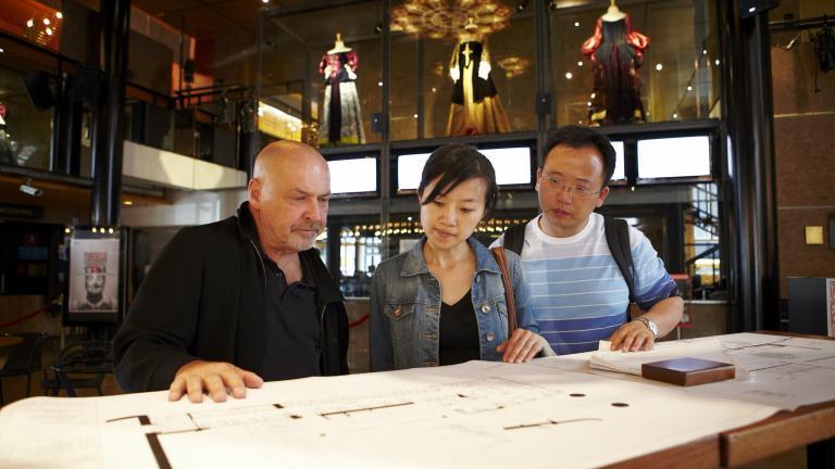 Café du Nouveau monde - circuit hommage à Luc Laporte