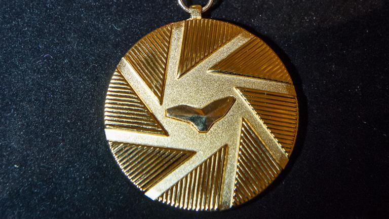Prototype - avers de la médaille
