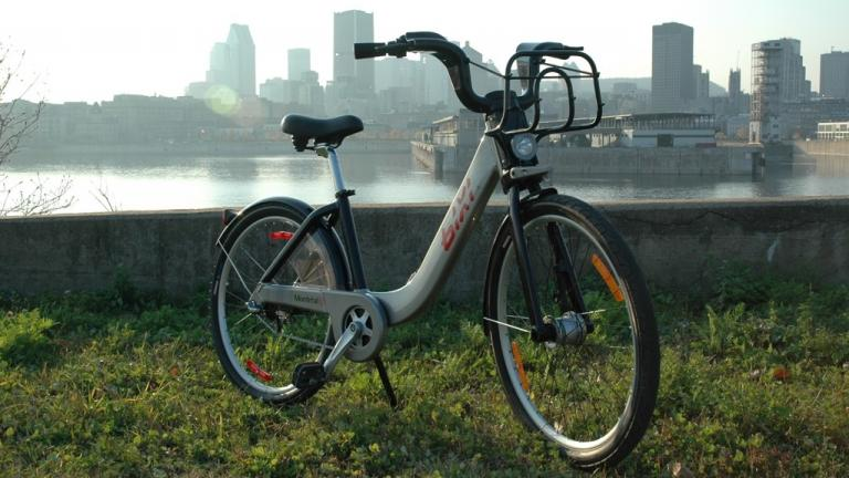 BIXI, système de vélos libre-service de Montréal