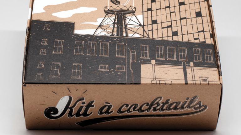 Kit à cocktails Montréal