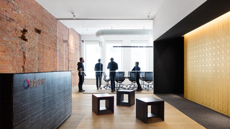 Bureaux de AdGear-Samsung, Montréal, 2016