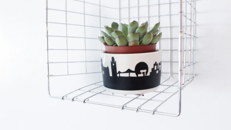 Pot pour plantes — Panorama de Montréal