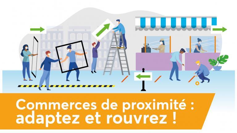 ASFQ visuel annonce aide aux commerçants