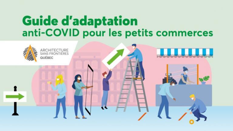 ASFQ - visuel du guide d'adaptation anti-COVID pour les petit commerces
