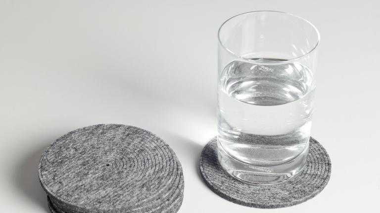 Sous-verres ronds