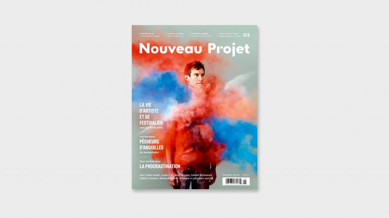 Artistic direction and design of the Nouveau Projet Magazine, Montreal, 2013