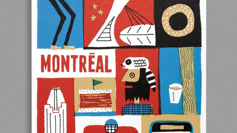 Carte postale de Montréal, Paperole