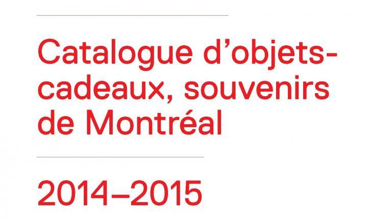 2014-2015 CODE SOUVENIR MONTRÉAL catalogue cover