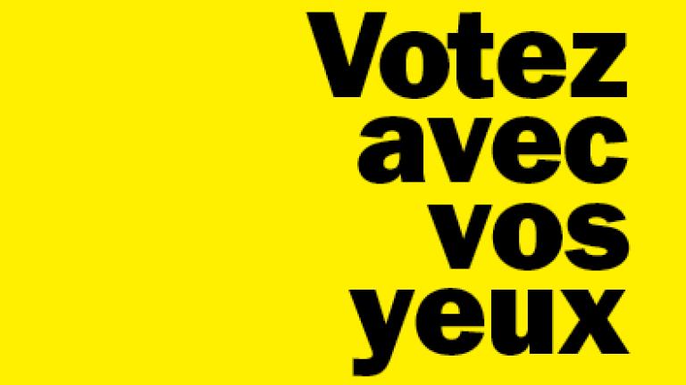 Votez avec vos yeux