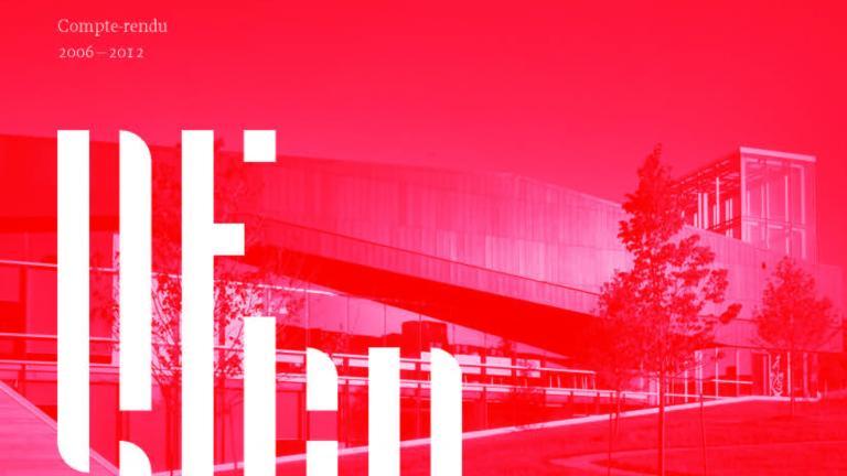 Couverture, Compte rendu Chantier Montréal Ville UNESCO de design, 2006-2012