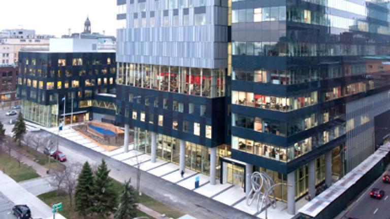 Centre hospitalier de l'Université de Montréal (le nouveau CHUM), Montréal