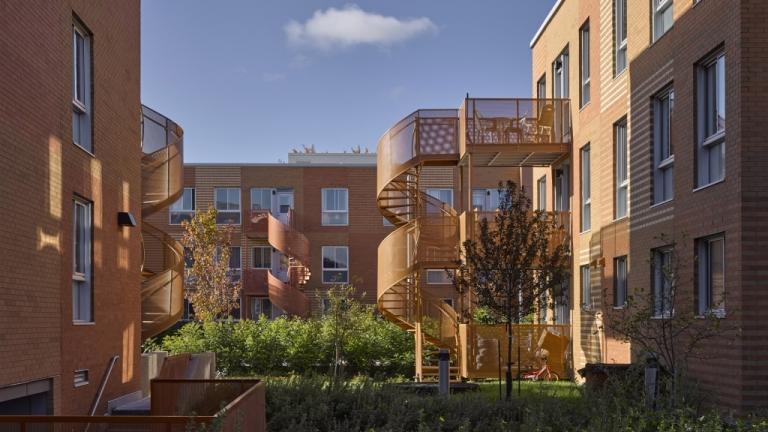 Habitations Saint-Michel Nord, Montréal, 2021