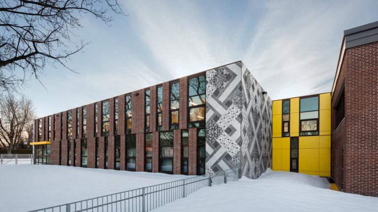 École Saint-François-d'Assise, Montréal, 2018
