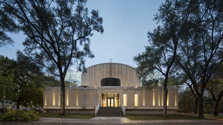 Le Centech, Dow Planetarium Conversion, Montréal, 2019