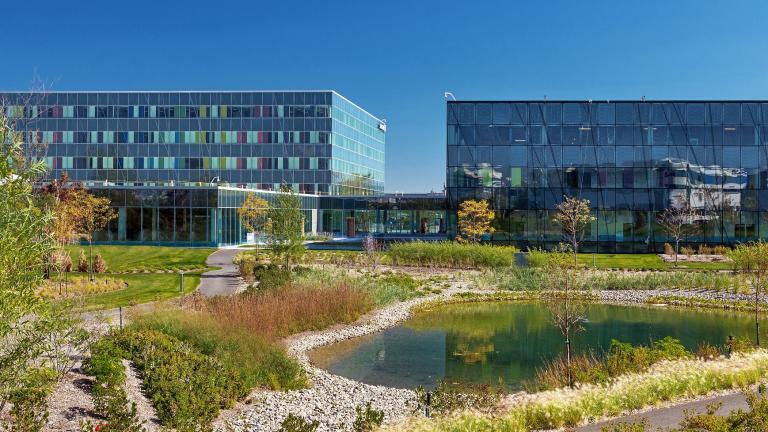 Architecture de paysage du siège social Ericsson, Montréal, 2016