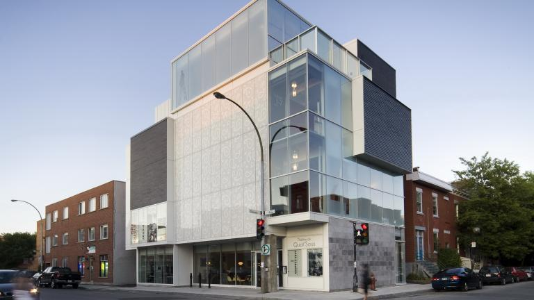 Quat'Sous theater, Montreal, 2009
