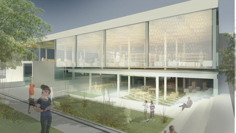 Saul-Bellow Library Competition