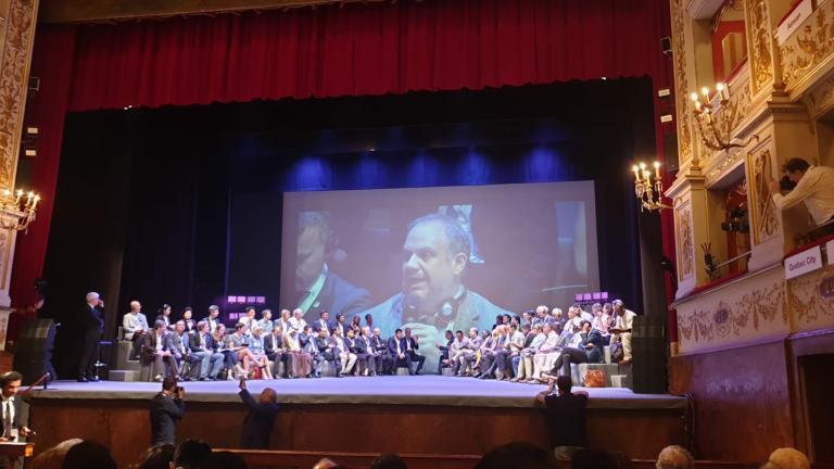 Intervention de M. Benoît Dorais au Forum des Maires du Réseau des villes créatives de l'UNESCO 2019 - Fabriano