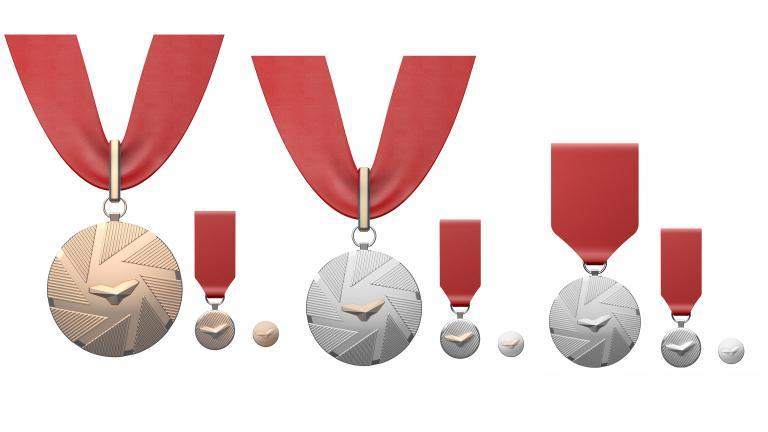 Illustration de la médaille de l'Ordre de Montréal