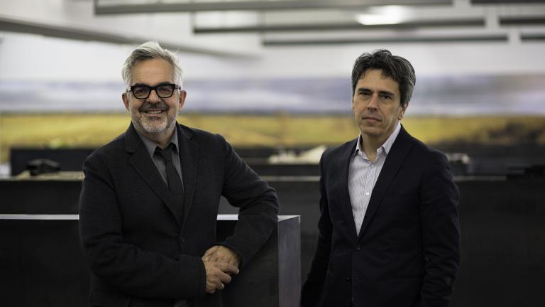 Gilles Saucier and André Perrotte