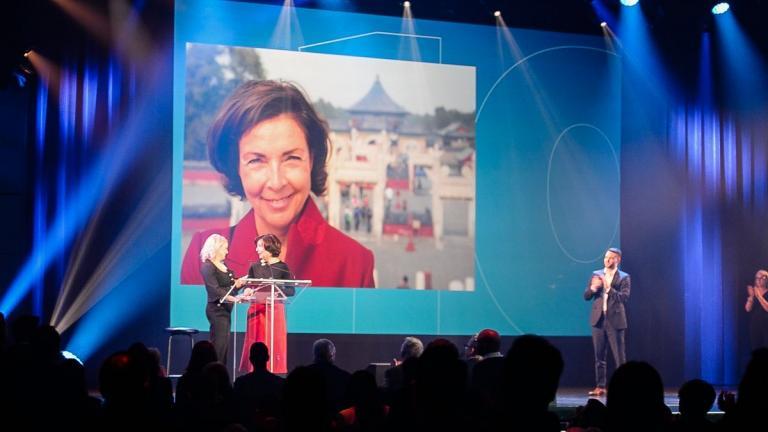 Marie-Josée Lacroix reçoit le Prix Hommage