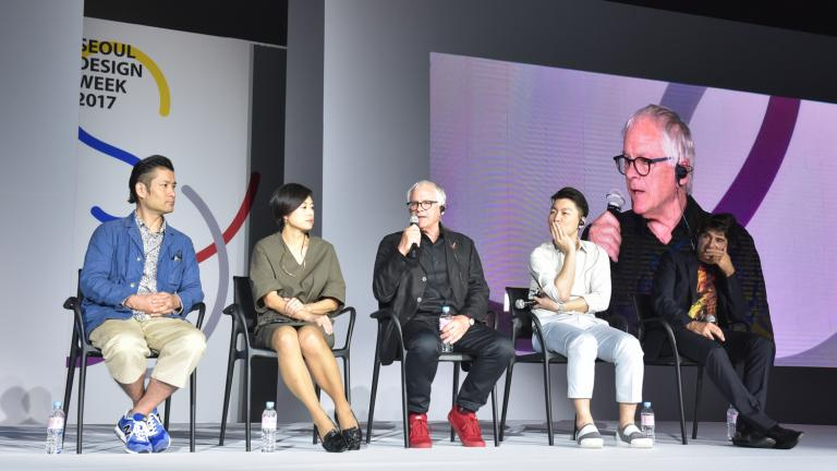 Pierre Fortin at the Seoul Design Week