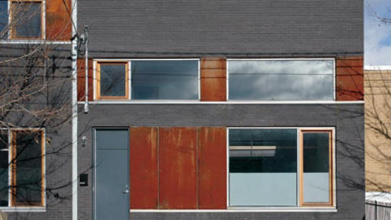 Résidences 6747-6759, rue Saint-Urbain / Henri Cleinge, architecte