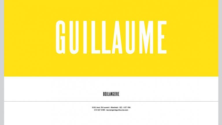 Boulangerie Guillaume, identité visuelle