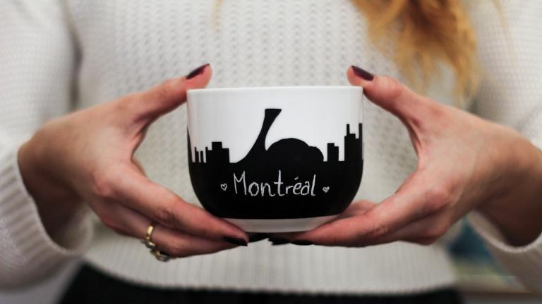 Bol — Panorama de Montréal