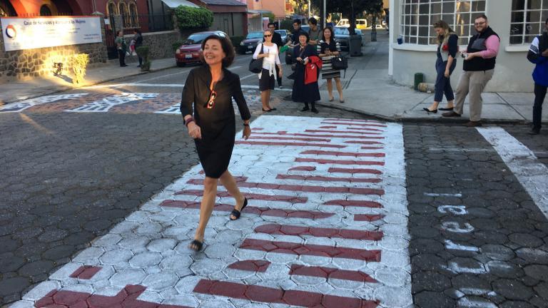 La signature de Montréal Ville UNESCO de design à Puebla
