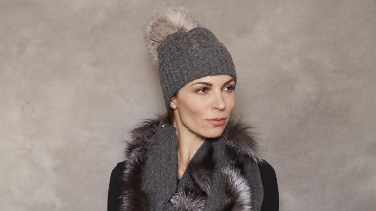 Cashmere Recycled Tuque