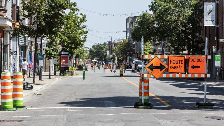 Rue Ontario Est, le 21 juillet 2020