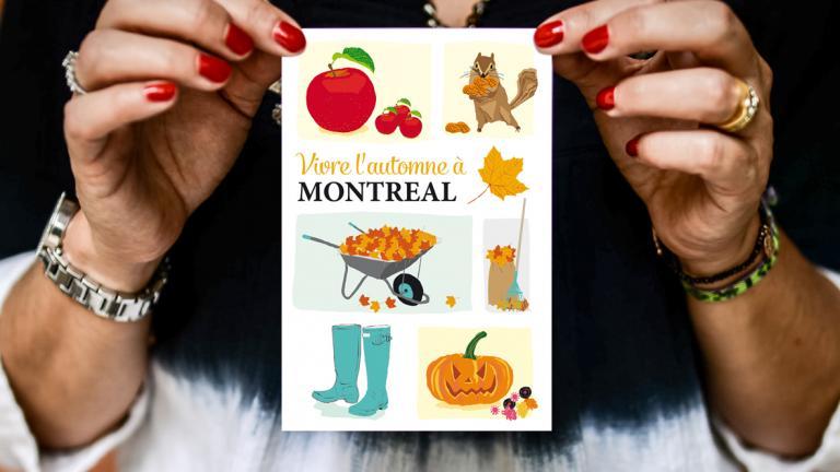 Carte postale — Automne