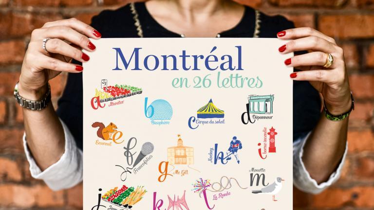 Affiche Lili Graffiti grand format — 26 lettres