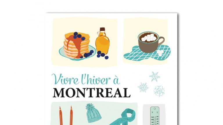 Carte postale — Vivre l'hiver à Montréal