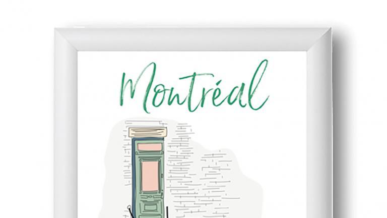 Prints — Montréal Staircase
