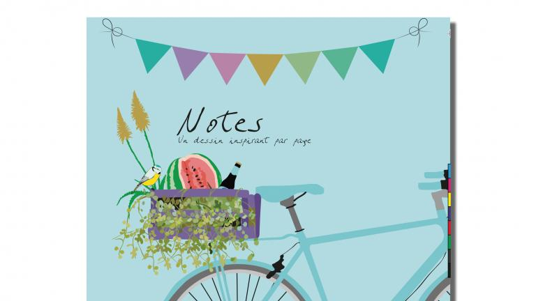 Notebook — Bicyclette