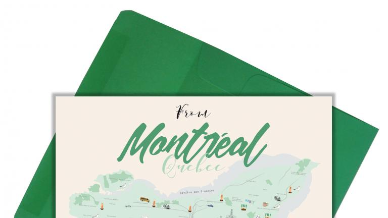 Greeting Card — Montréal