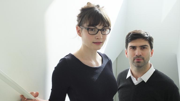 Eugénie Manseau et Philippe Carreau, lauréats 2012